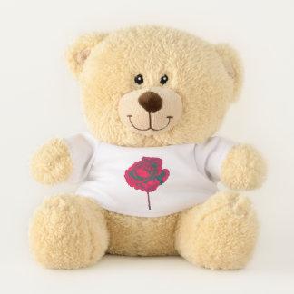 Rote Rose Teddybär