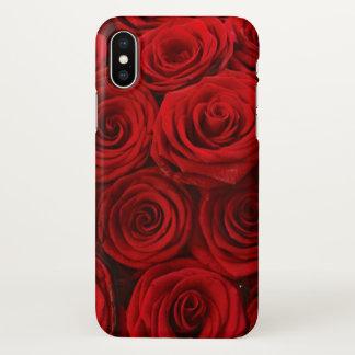 Rote Rosen iPhoneX iPhone X Hülle