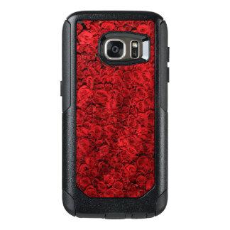 Rote Rosen OtterBox Samsung Galaxy S7 Hülle