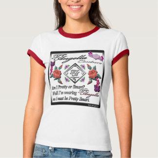 Rote Rosen und lila Schmetterlinge Wecker-T - T-Shirt