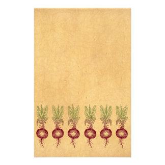 Rote Rübe stationär Briefpapier