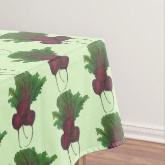 Rote Rüben-Bündel-Garten-Gemüserote-bete-wurzeln Tischdecke