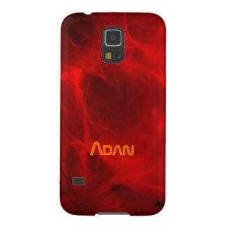 Rote Samsung-Galaxieabdeckung für Adan Samsung Galaxy S5 Cover