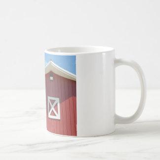 rote Scheune Kaffeetasse