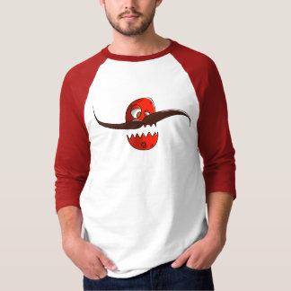 Rote Schnauzbärtige Bohne T-Shirt