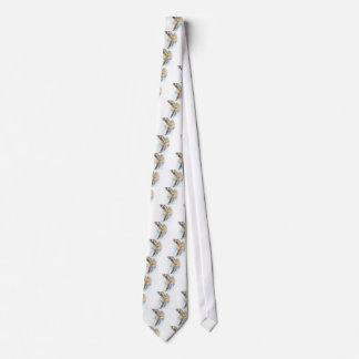 Rote Schwanz-Falke-Kunst Bedruckte Krawatten