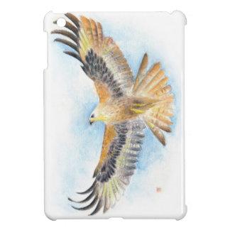 Rote Schwanz-Falke-Kunst iPad Mini Hüllen