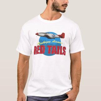 Rote Schwänze Tuskegee Flieger T-Shirt