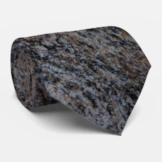 Rote schwarze Steinbeschaffenheit des Granits Individuelle Krawatten