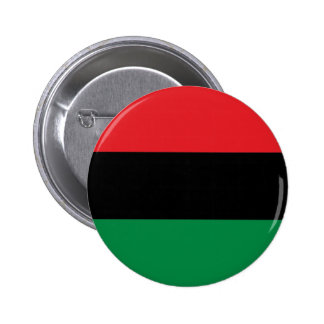 Rote schwarze und grüne Pan-Afrikanische UNIA Runder Button 5,7 Cm