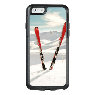 Rote Skis OtterBox iPhone 6/6s Hülle