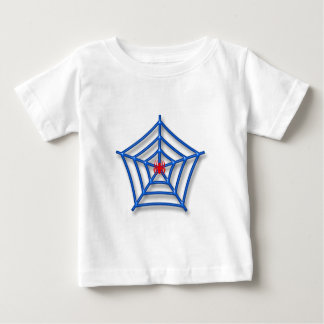 Rote Spinne Baby T-shirt