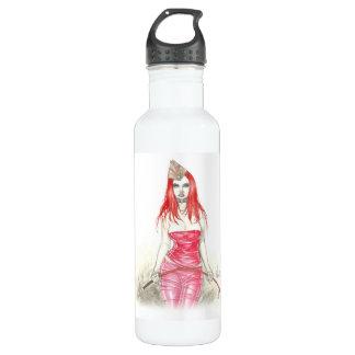 Rote steigende Freiheits-Flasche Phoenix Trinkflasche