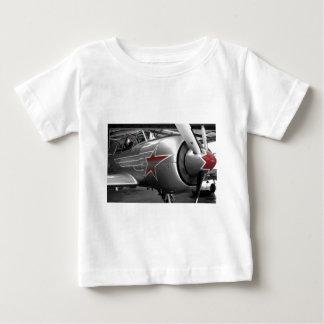 Rote Stern-Yak 52 Baby T-shirt