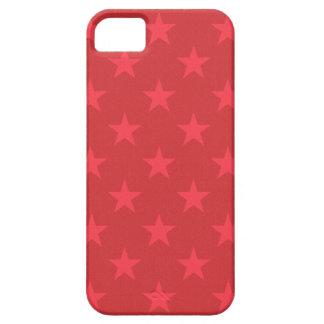 Rote Sternchen-Vereinbarung Etui Fürs iPhone 5