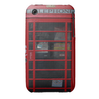 rote Telefonzelle iPhone 3 Cover