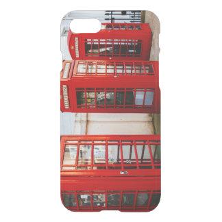 Rote Telefonzellen Londons, Fotografie iPhone 8/7 Hülle