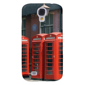 Rote Telefonzellen Londons Galaxy S4 Hülle