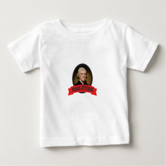rote TJ Kunst Baby T-shirt