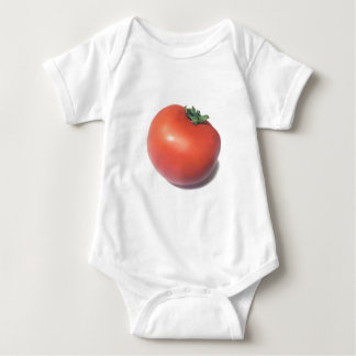 Rote Tomate Baby Strampler