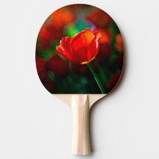 Rote Tulpe - Geheimnis des Blühens Tischtennis Schläger