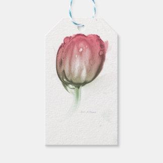 Rote Tulpe Geschenkanhänger