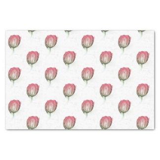 Rote Tulpe Seidenpapier