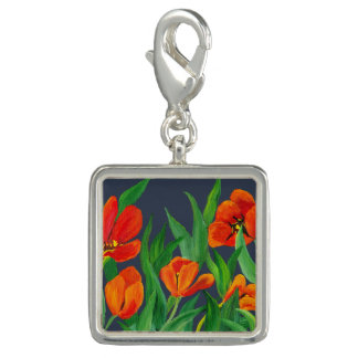 Rote Tulpen Charm