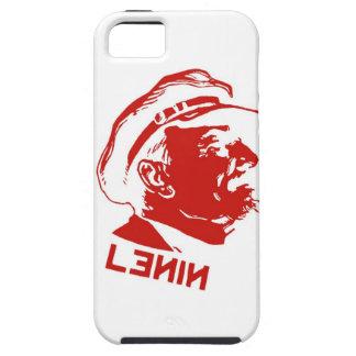 Rote u. weiße Lenin-Kommunist-Grafik iPhone 5 Cover
