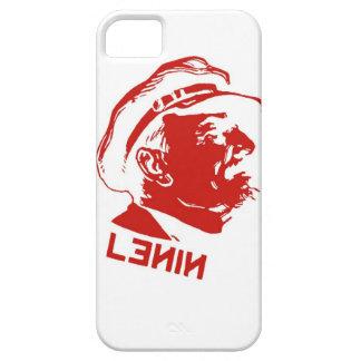 Rote u. weiße Lenin-Kommunist-Grafik iPhone 5 Hülle