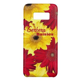 Rote und gelbe Gerber Gänseblümchen-Fotografie Case-Mate Samsung Galaxy S8 Hülle