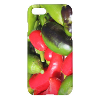 Rote und grüne Chili-Paprikaschoten IPhone 8/7 iPhone 8/7 Hülle
