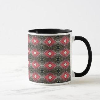 rote und schwarze Tasse