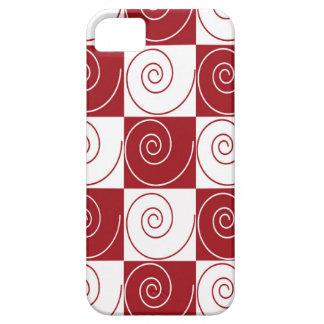 Rote und weiße MäuseSchwänze iPhone 5 Case