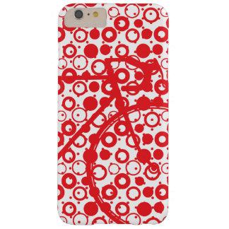 Rote und weiße sportliche Fahrräder Barely There iPhone 6 Plus Hülle