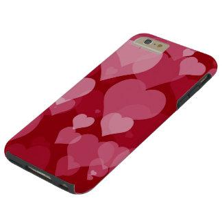 Rote Valentinsgruß-Herzen starke iPhone 6 Plusfall Tough iPhone 6 Plus Hülle