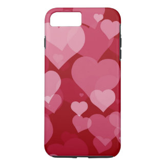 Rote Valentinsgruß-Herzen starke iPhone 7 Plusfall iPhone 8 Plus/7 Plus Hülle