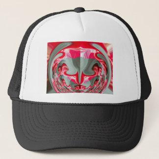 Rote Vintage Hakuna Matata runde Geschenke Truckerkappe