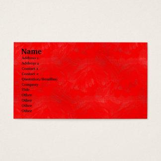 Rote Wäsche Visitenkarte