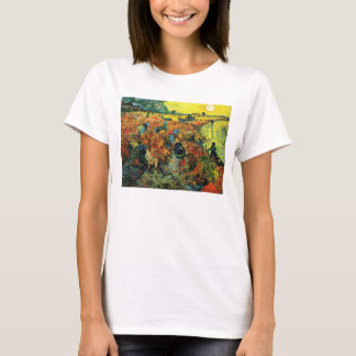 Rote Weinberge Van Gogh an Arles T - Shirt