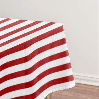 Rote weiße nautischstreifen und blauer Anker Tischdecke