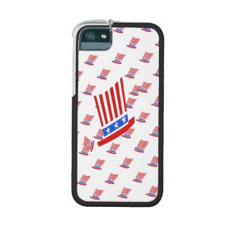 Rote weiße und blaue Streifen und Stern Hülle Für iPhone 5
