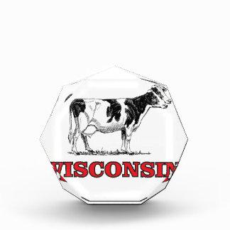 rote Wisconsin-Kuh Auszeichnung