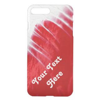 Roter abstrakter Telefon-Kasten -- Kundengerecht iPhone 8 Plus/7 Plus Hülle