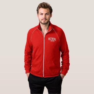 Roter Abteilungs-Jacken-Männer Jacke