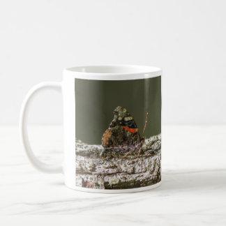 Roter Admiral Kaffeetasse