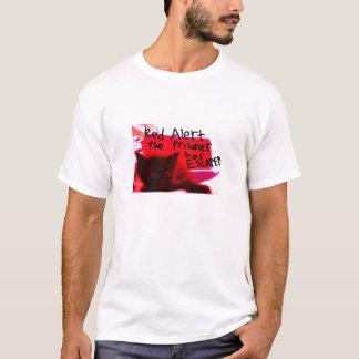 Roter Alarm-Shirt T-Shirt