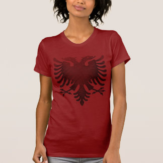 Roter Albaner Eagle T-Shirt