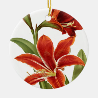ROTER Amaryllis Keramik Ornament