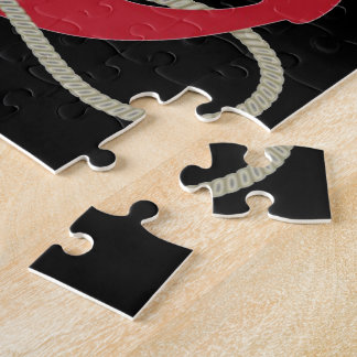 Roter Anker Puzzle
